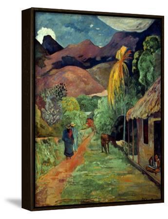 Gauguin: Tahiti, 19Th C-Paul Gauguin-Framed Canvas Print