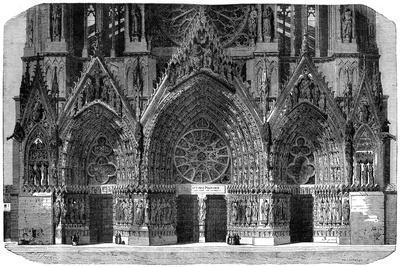 Cathedral of Notre-Dame, Reims, France, 1882-1884