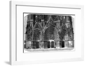 Cathedral of Notre-Dame, Reims, France, 1882-1884 by Gautier