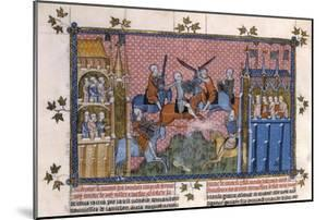 Scene from the Romance of Lancelot of the Lake by Gautier