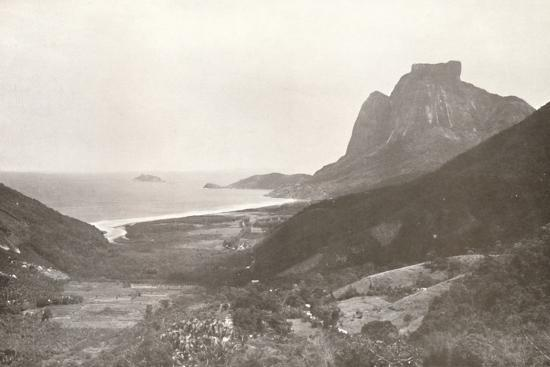 'Gavea Mountain and the South Atlantic', 1914-Unknown-Photographic Print