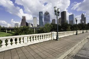 City Skyline, Houston, Texas, United States of America, North America by Gavin