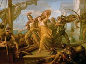 The Rape of Helen, 1770s by Gavin Hamilton
