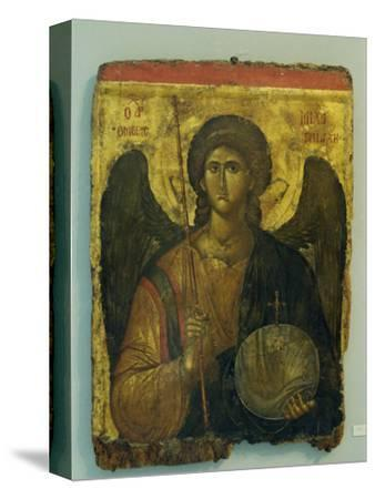 14th Century Icon of Archangel Michael in the Byzantine Museum in Athens, Greece, Europe