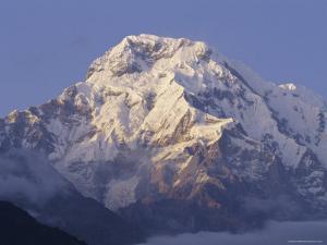 Annapurna South, 7219M, Himalayas, Nepal, Asia by Gavin Hellier