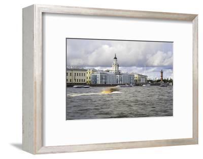 Building of the First Russian Museum Kunstkamera (Kustkammer) in St. Petersburg, Russia