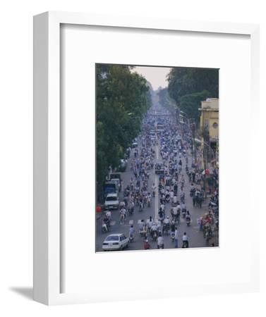 Busy Downtown Street, Ho Chi Minh City (Saigon), Vietnam, Indochina, Asia