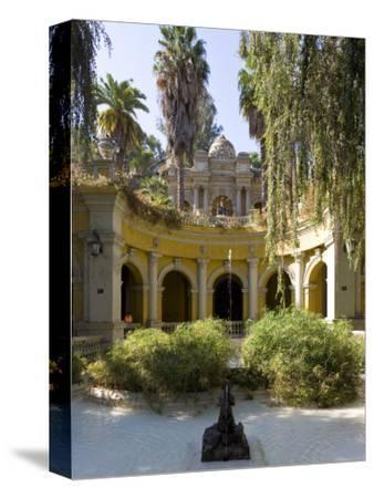 Cerro Santa Lucia and the Ornate Terraza Neptuno Fountain, Santiago, Chile