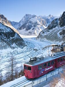 Chamonix-Mont-Blanc, French Alps, Haute Savoie, Chamonix, France by Gavin Hellier