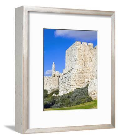 Citadel (Tower of David), Old City Walls, UNESCO World Heritage Site, Jerusalem, Israel