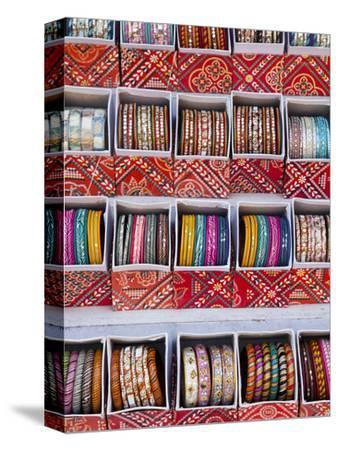 Colourful Braclets for Sale in a Shop in Jaipur, Rajasthan, India