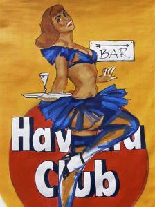 Cuban Paintings, Havana, Cuba, West Indies, Central America by Gavin Hellier