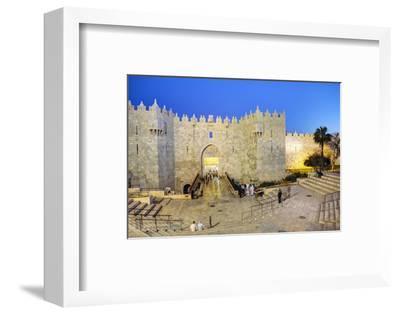 Damascus Gate, Old City, UNESCO World Heritage Site, Jerusalem, Israel, Middle East