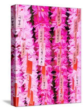 Decorative Coloured Lanterns Inside Joyesa Temple, Jongno-gu District, Seoul, South Korea