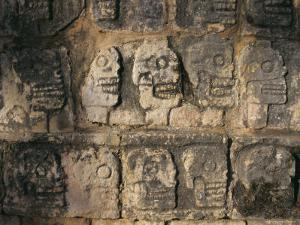 Detail, Mayan Ruins, Chichen Itza, Unesco World Heritage Site, Yucatan, Mexico, Central America by Gavin Hellier