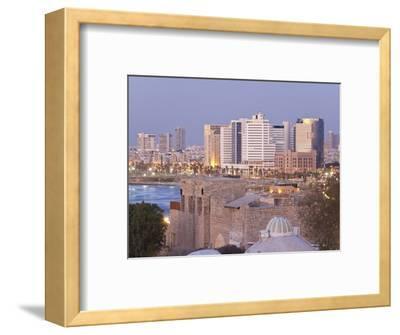 Downtown Buildings Viewed from Hapisgah Gardens Park, Tel Aviv, Israel, Middle East