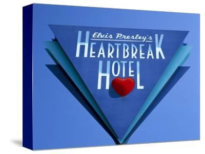 Elvis Presley's Heartbreak Hotel Sign, Memphis, Tennessee, USA