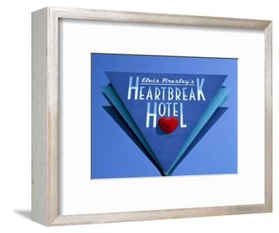 Elvis Presley's Heartbreak Hotel Sign, Memphis, Tennessee, USA
