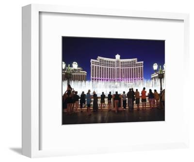 Fountains of Bellagio, Bellagio Resort and Casino, Las Vegas, Nevada, USA, North America