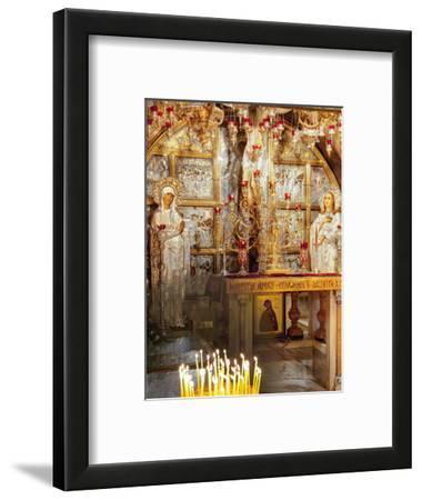 Golgotha, Crucifixion Site, Church of Holy Sepulchre, UNESCO World Heritage Site, Jerusalem, Israel