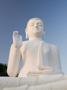 Great Seated Figure of the Buddha, Mihintale, Sri Lanka, Asia by Gavin Hellier