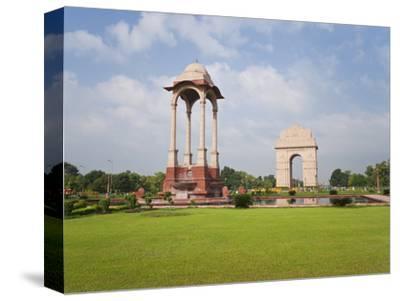 India Gate, 42 Metre High, Eastern End of the Rajpath, New Delhi, Delhi, India, Asia