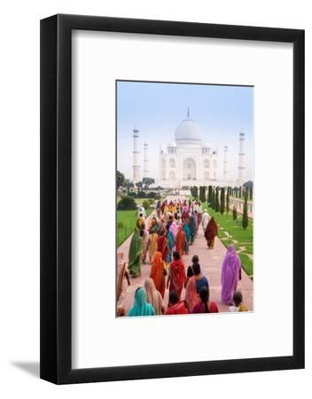 India, Uttar Pradesh, the Taj Mahal, This Mughal Mausoleum Has Become the Tourist Emblem of India