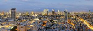 Israel, Tel Aviv, Elevated City View Towards the Commercial and Business Centre by Gavin Hellier