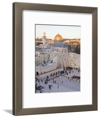 Jewish Quarter of Western Wall Plaza, UNESCO World Heritage Site, Jerusalem, Israel