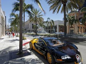 Luxury Car Parked on Rodeo Drive, Beverly Hills, Los Angeles, California, United States of America, by Gavin Hellier