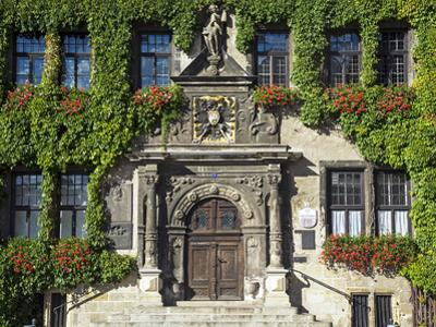Market Square, Quedlinburg, UNESCO World Heritage Site, Harz, Saxony-Anhalt, Germany