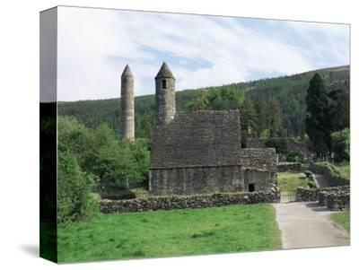 Monastic Gateway, Round Tower Dating from 10th to 12th Centuries, Glendalough, County Wicklow