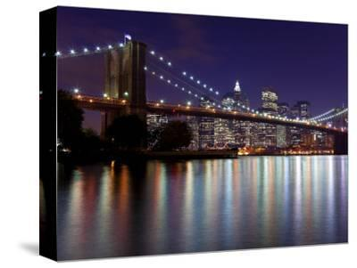 New York City, Manhattan, Brooklyn Bridge and Downtown Manhattan, USA