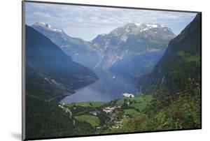 Norway, Western Fjords, Geiranger Fjord by Gavin Hellier