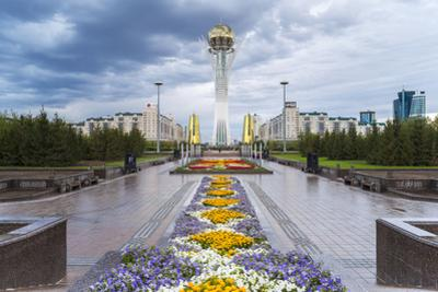 Nurzhol Bulvar, Astana, Kazakhstan
