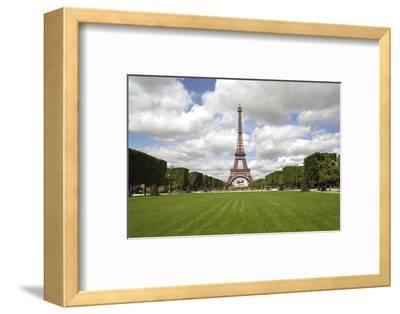 Parc Du Champ De Mars, Eiffel Tower, Paris, France, Europe