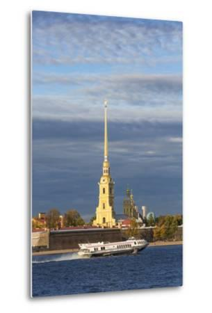 Peter and Paul Fortress on Neva Riverside, St. Petersburg, Russia