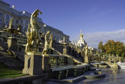 Petrodvorets (Peterhof) (Summer Palace), Near St. Petersburg, Russia