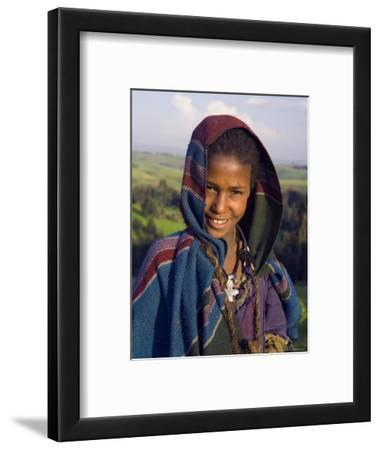 Portrait of Local Girl, Unesco World Heritage Site, Simien Mountains National Park, Ethiopia
