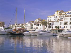 Puerto Banus, Near Marbella, Costa Del Sol, Andalucia (Andalusia), Spain, Europe by Gavin Hellier