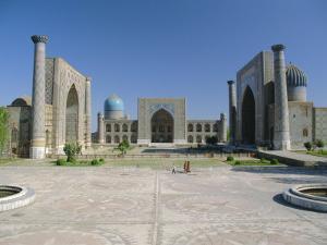 Registan Square, Samarkand, Uzbekistan, Central Asia by Gavin Hellier