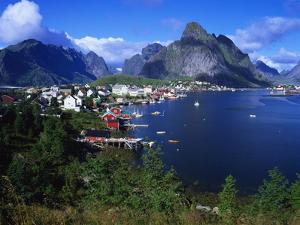 Reine Town, Moskenesoy, Lofoten, Norway by Gavin Hellier