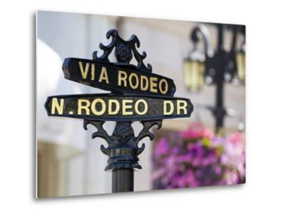Rodeo Drive, Beverly Hills, Los Angeles, California, United States of America, North America