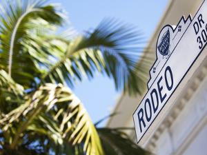 Rodeo Drive, Beverly Hills, Los Angeles, California, United States of America, North America by Gavin Hellier