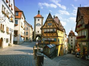 Rothenburg Ob Der Tauber, the Romantic Road, Bavaria, Germany, Europe by Gavin Hellier