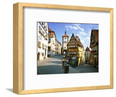 Rothenburg Ob Der Tauber, the Romantic Road, Bavaria, Germany, Europe