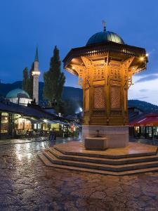 Sebilj, Bascarsija District, Sarajevo, Bosnia and Herzegovina by Gavin Hellier