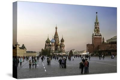 St. Basils Cathedral and the Kremlin in Red Square, Moscow, Russia