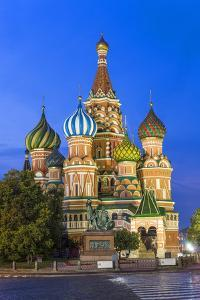 St. Basils Cathedral in Red Square, Moscow, Russia by Gavin Hellier