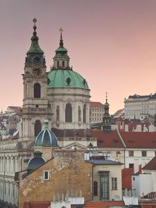 St. Nicholas Church, Prague, Czech Republic, Europe by Gavin Hellier